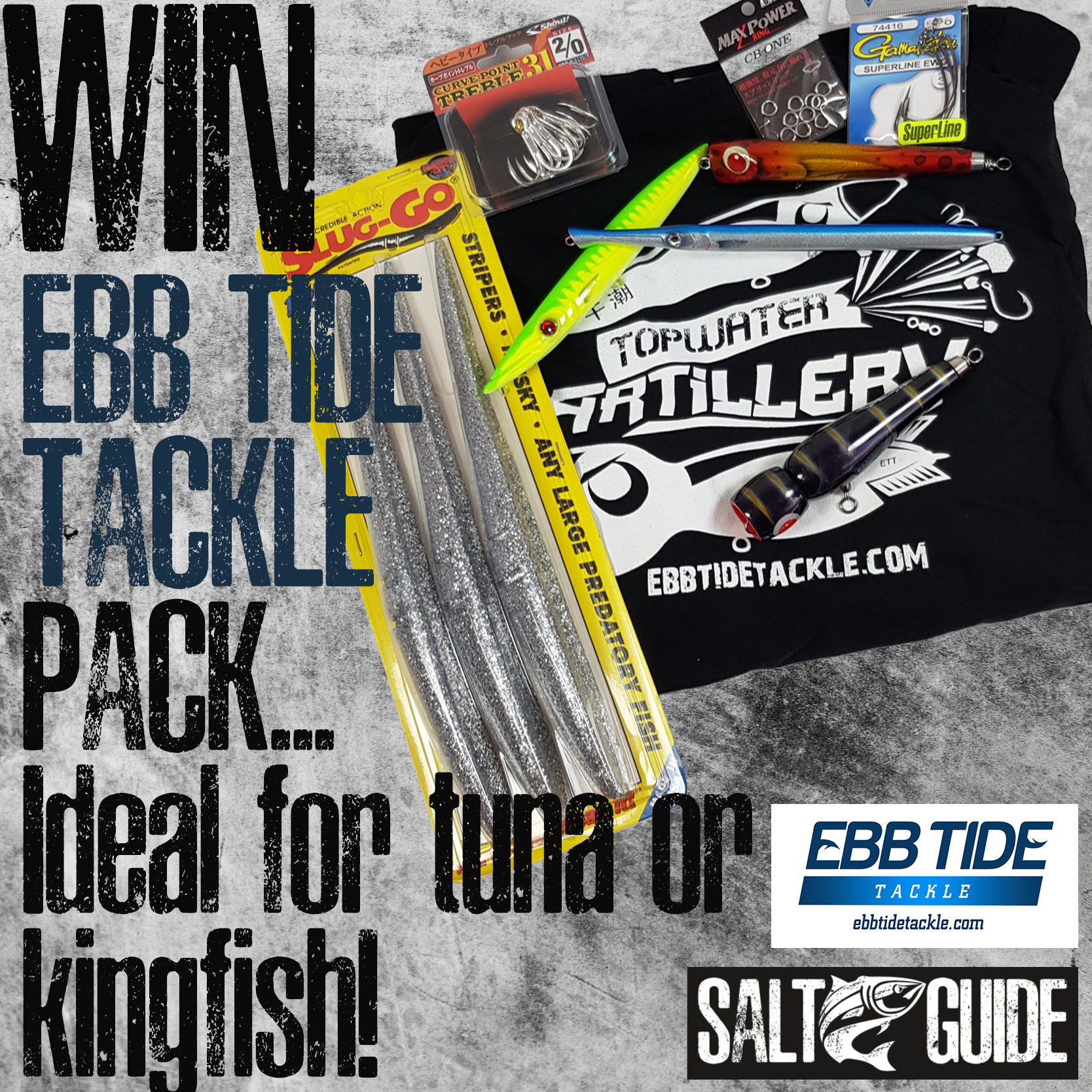 Win An Ebb Tide Tackle Pack - Salt Guide